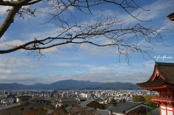Kyoto skyline from Kiyomizu-dera - Kyoto Japan