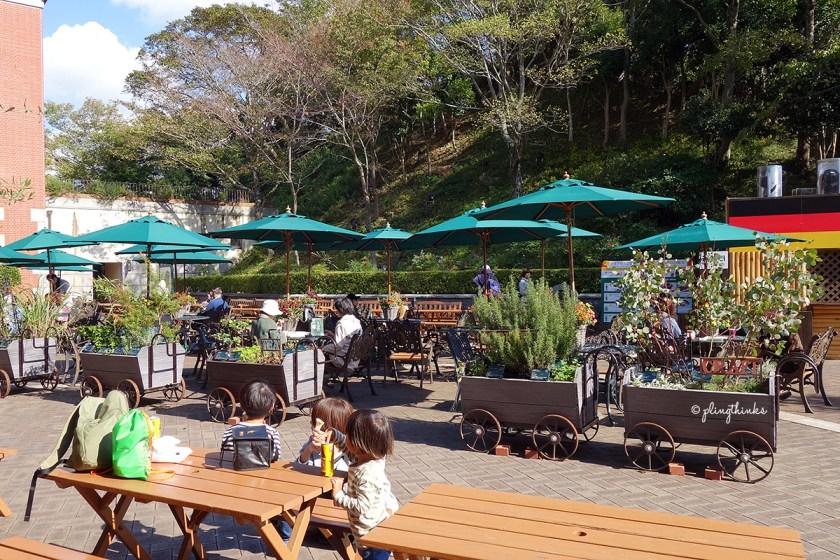 Herb Carts - Nunobiki Herb Gardens Kobe Japan