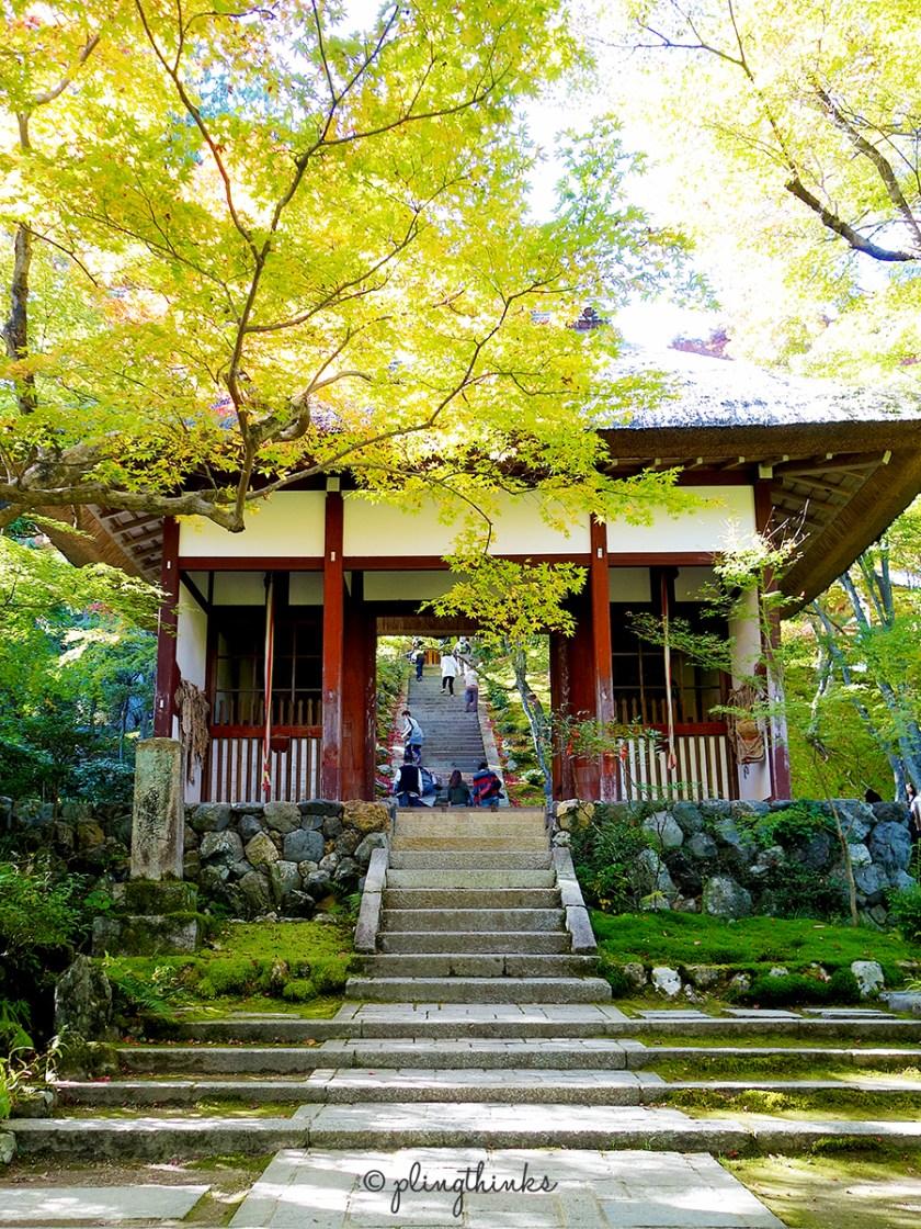 Jojakkoji temple entrance - Kyoto Arashiyama