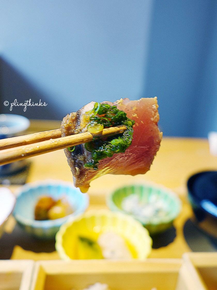 Kyoto Obanzai Lunch - IZAMA Marinated Maguro