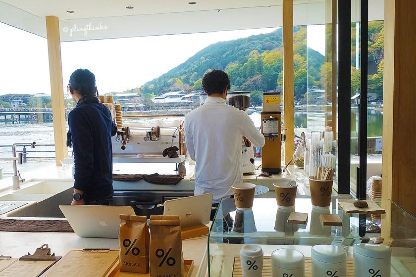 Arabica Cafe - Arashiyama Kyoto