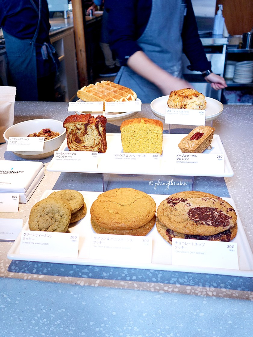 Blue Bottle Kyoto Cafe - Cakes Cookies Waffle