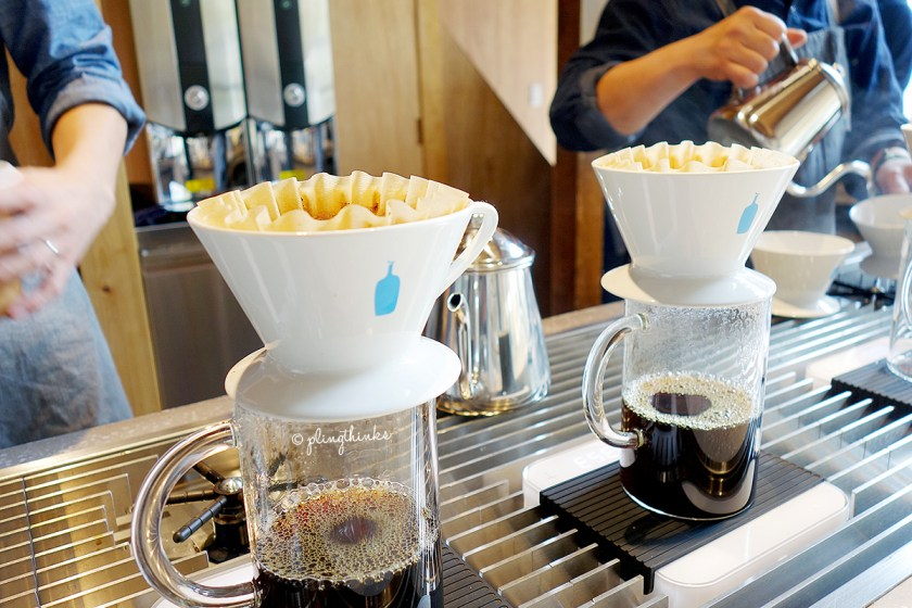 Blue Bottle Kyoto Cafe - Pourover Drip Coffee