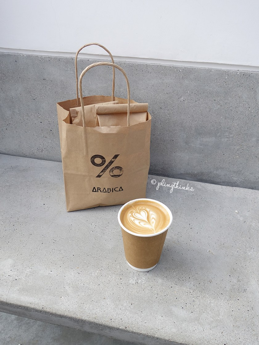 Cafe Arabica Coffee Latte Art - Kyoto Arashiyama