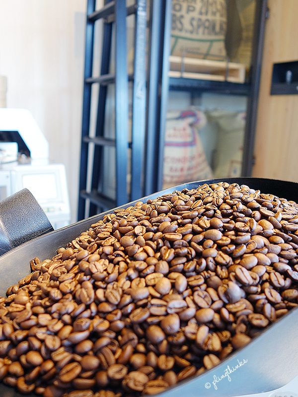 Coffee Beans at Cafe Arabica - Kyoto Arashiyama