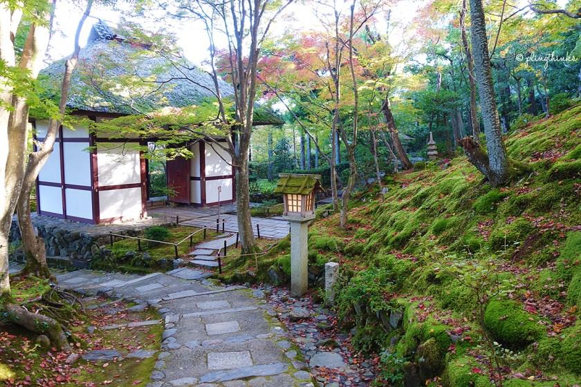 Jojakko-ji Temple in Kyoto Arashiyama Sagano
