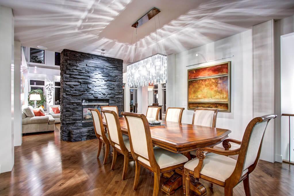 Dining-room-entertaining-40-Wentwillow-lane-SW-west-springs-real-estate-for-sale-plintz-Realtor-calgary-sothebys-Luxury