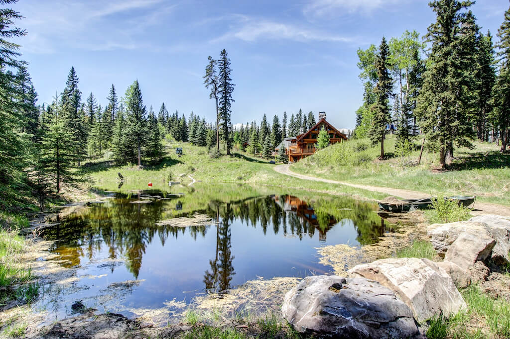 352248-Pine-Ridge-Road-Bragg-Creek-Ranch-Acreage-For-Sale-Calgary-Real-Estate-For-Sale-taylor-sothebys-pond-water-feature