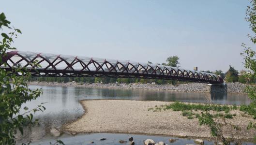 Peace-Bridge-Eau-Claire-Calgary-Plintz-Real-Estate-Bow-River-Condos-Riverfront