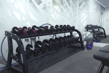 free-weights-gym-Calla-Condo-High-rise-calgary-beltline-downtown-for-sale