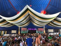 ...and the huge BBC Music tent.