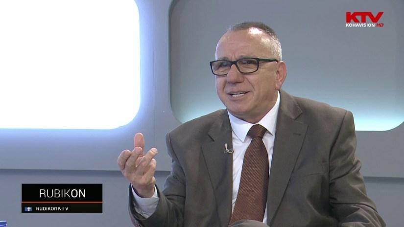 Prof. Enver Hasani në emisionin Rubikon në KTV