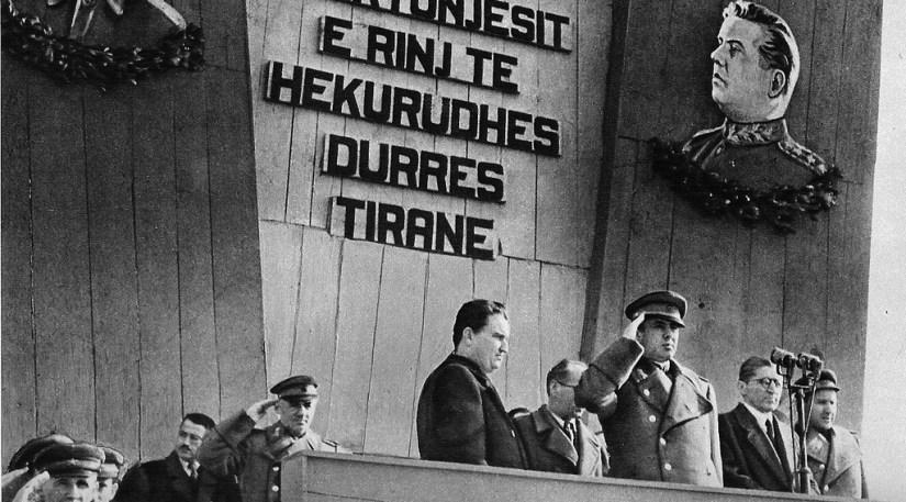 Përurimi i hekurudhës Tiranë–Durrës