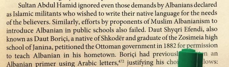 Abdylhamiti II nuk e lejoi Kuranin shqip