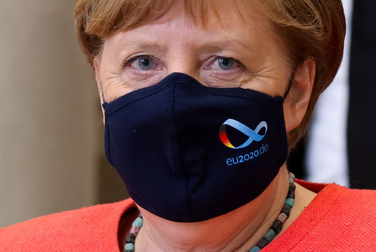 Angela Merkel gjatë pandemisë
