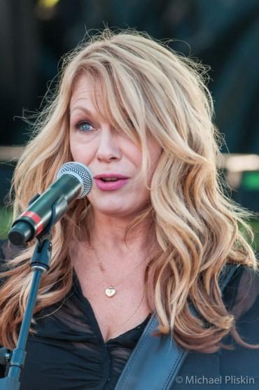 Nancy Wilson and Heart perform at the BR Cohn Winery, Glen Ellen, CA.