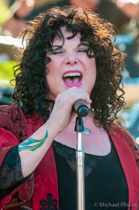 Ann Wilson and Heart perform at the BR Cohn Winery, Glen Ellen, CA.