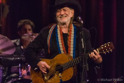Willie Nelson at the Last of the Breed show