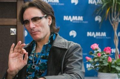 Steve Vai @ Carvin Press Conference, NAMM 09