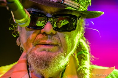 Dr. John (Mac Rebennack) performs during the John Lennon Bus Imagine Party on the Main Stage at NAMM 2016