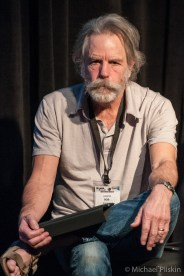 Bob Weir (Grateful Dead, Ratdog, Further) discusses the Constellation monitor system at Meyer Sound booth at NAMM 2011