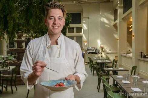 Spring Pastry Chef Gregory Baumgartner
