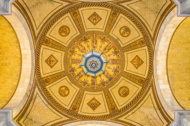 Under the dome of Los Angeles City Hall