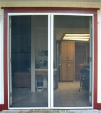 Retractable Screen and French Door Screen