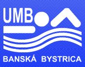 Знак пливачког клуба УМБ Банска Бистрица и линк на њихову матичну страницу