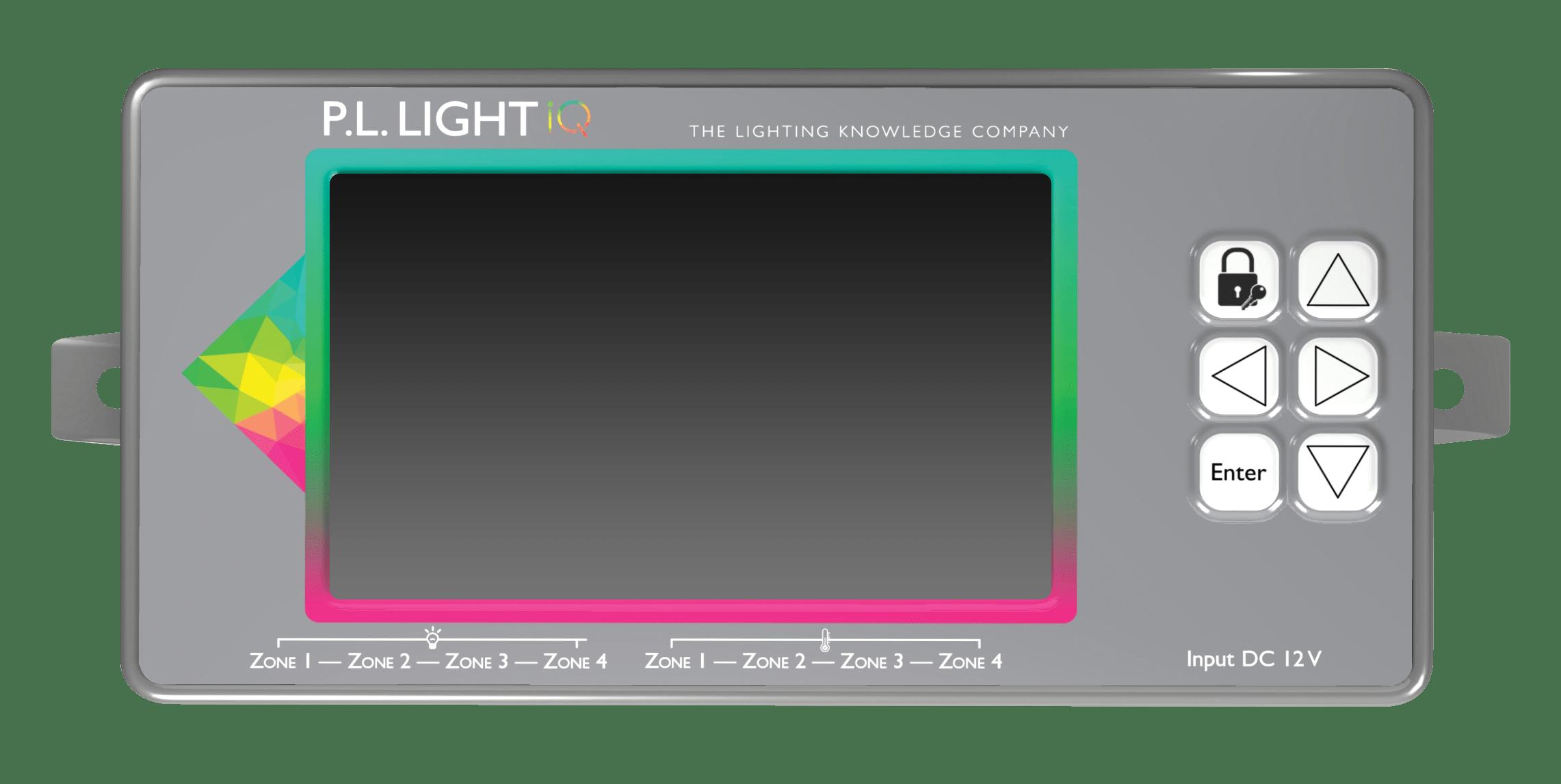 P.L. Light iQ - blank screen