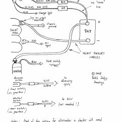 Dynastart Wiring Diagram Strat Treble Bleed Sel Alternator Conversion 1 Wire
