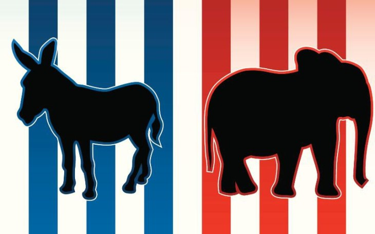 republican and democrat