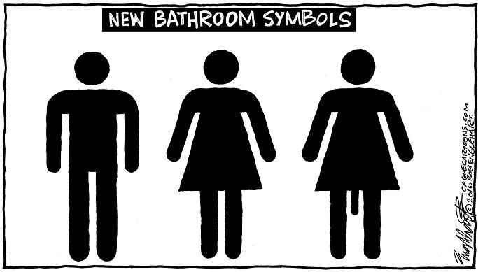 bathroom symbols