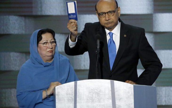 Khizr Khan at DNC