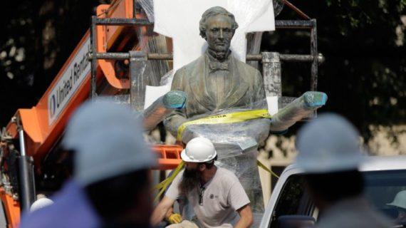 Davis statue