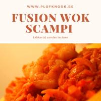 Fusion Wok Scampi
