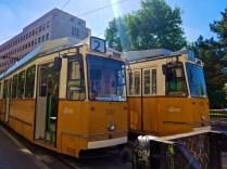 Trams on Szent István