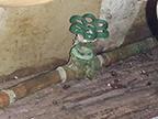 Entrée d'eau principale en cuivre pour le remplacement du plomb