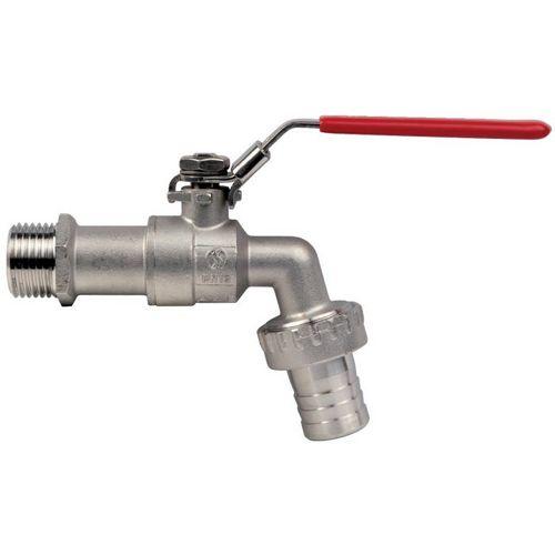 robinet de puisage en inox cadenassable m3 4 nez 3 4