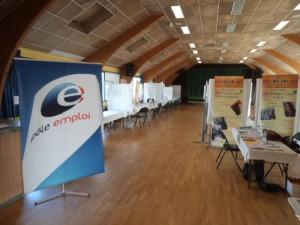 Pôle Emploi au Forum de L'emploi à Plonéour-Lanvern