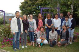 Ecole Notre Dame de Bon Secours à Plonéour-Lanvern : l'équipe en 2017