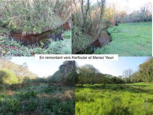 Zones Humides : autour de Kerfoular et Menez Yeun
