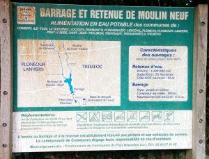 Panneau explicatif sur la réserve de Toul Dour