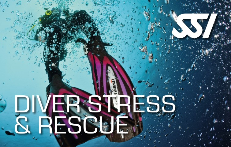 SSI - Diver Stress & Rescue specialty certification card