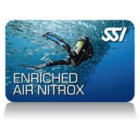 SSI Enriched Air Nitrox Card