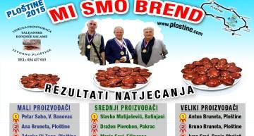 Rezultati natjecanja – konjska salama 2015