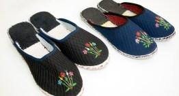 Kućne papuče – ručni rad