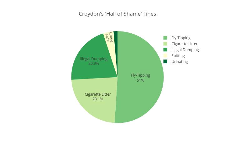 Croydon's 'Hall of Shame' Fines