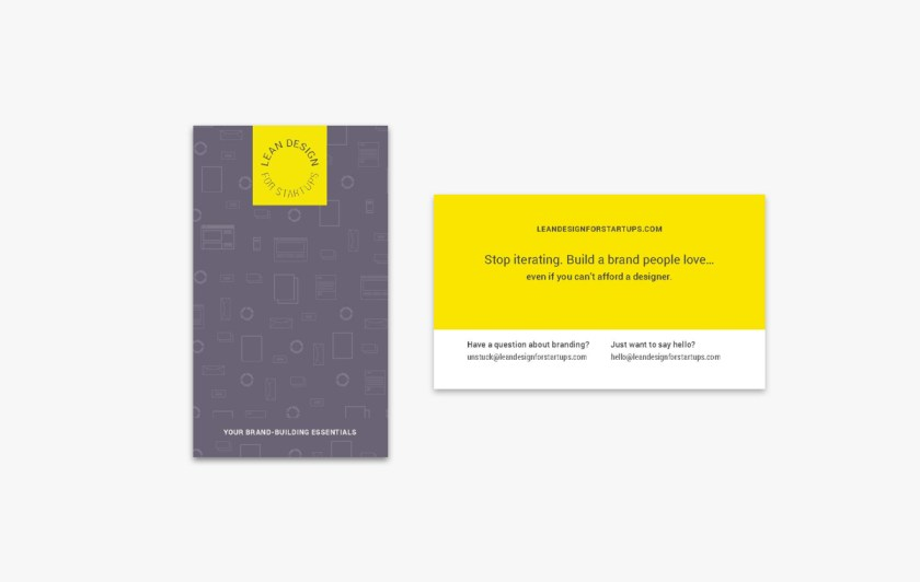 Lean Design Bus Cards