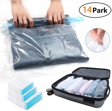 Space Bags make packing your hospital bag easily.